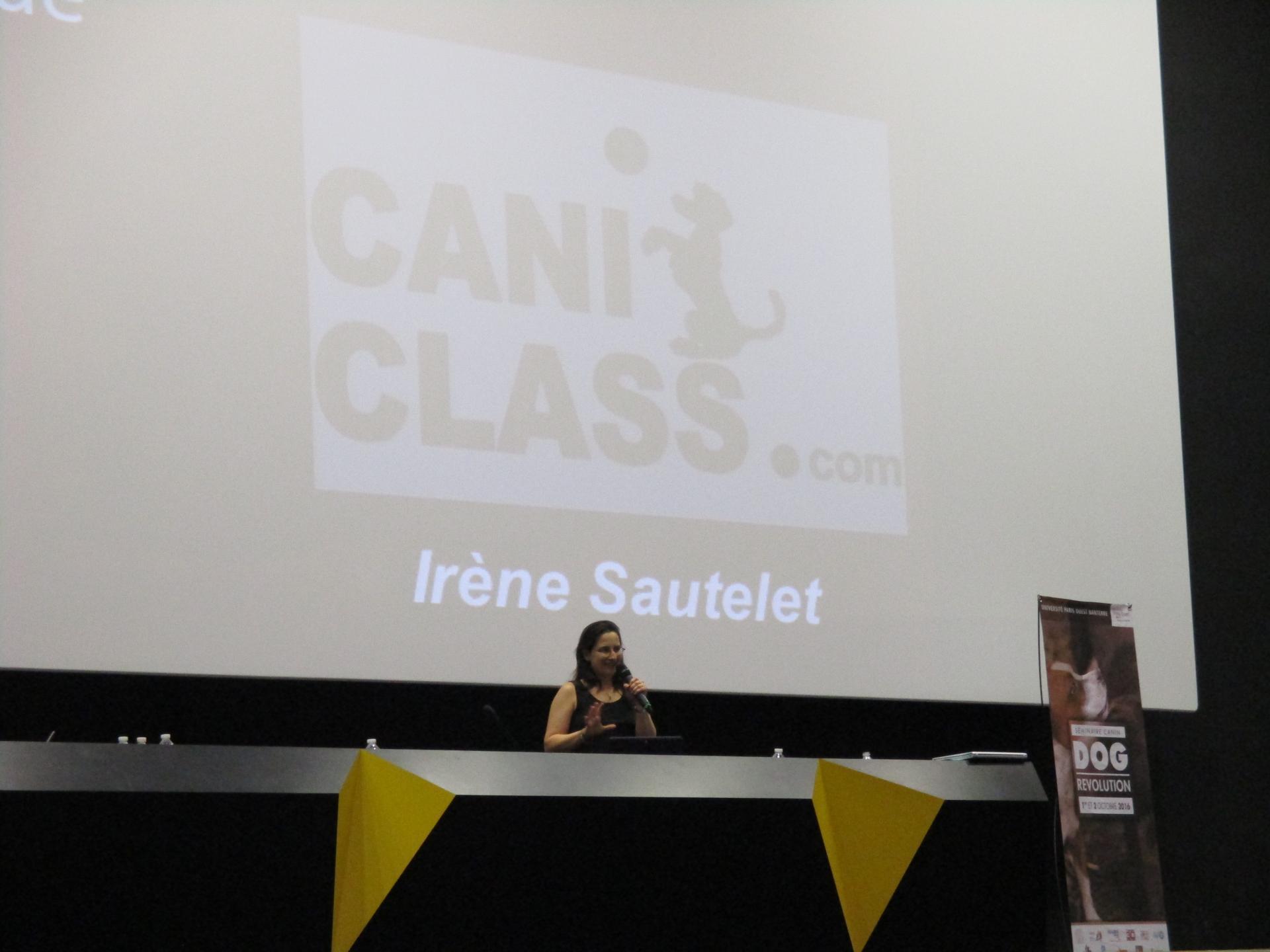 CANI CLASS intervention à Dog Revolution
