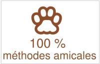 100 % méthodes amicales et positives